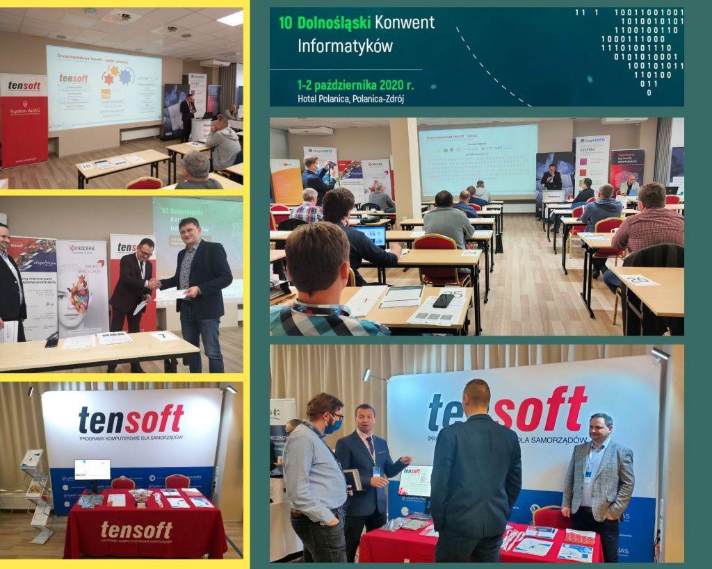 Grupa Tensoft na Dolnośląskim Konwencie Informatyków